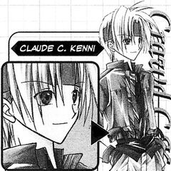 Claude as he appears in <i>Star Ocean: Blue Sphere</i> manga.