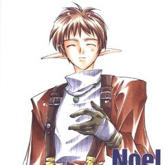 Noel as he would've appeared in <i>Star Ocean: The Second Story</i> manga