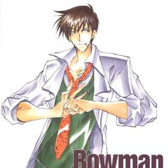 Bowman as he appears in <i>Star Ocean: The Second Story</i> manga.