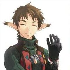 Noel as he appears in the mobile phone version of Star Ocean: Blue Sphere.