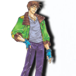 Bowman as he appears in <i>Star Ocean: Blue Sphere</i>
