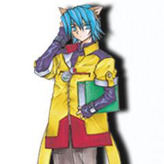 Leon as he appears in <i>Star Ocean: Blue Sphere</i>