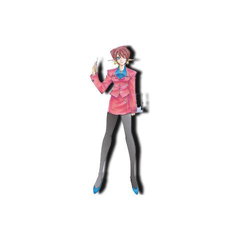 Chisato as she appears in <i>Star Ocean: Blue Sphere</i>
