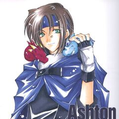 Ashton as he appears in <i>Star Ocean: The Second Story</i> Manga
