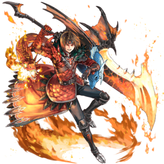 Blazing Ashton in Star Ocean: Anamnesis.