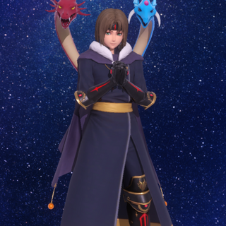 Ashton's in-game model in Star Ocean: Anamnesis.