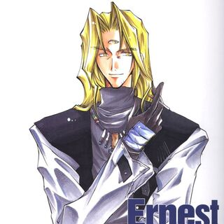 Ernest as he appears in <i>Star Ocean: The Second Story</i> manga