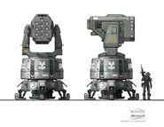 SDF Turret AA Missile