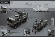 SDF Spear Artillery Unit Mk.2