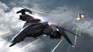 Fists of Sol Stealth Fighter