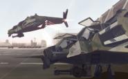 SDF Air Force Sentinel Gunships