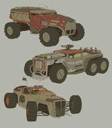 Red Corsairs Vehicles