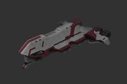 Red Corsair Ships Kraken Frigate