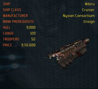 Nibiru ship