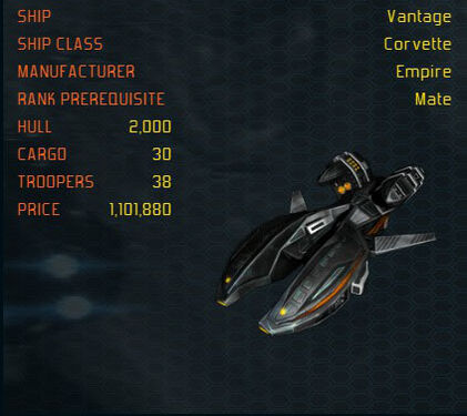 Vantage ship