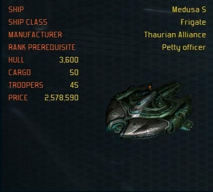 MedusaS ship
