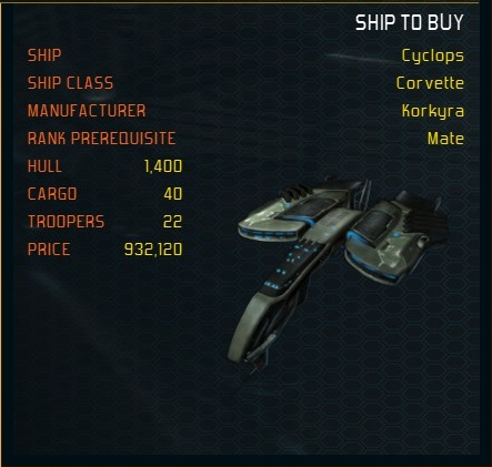 Cyclops ship