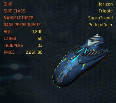 Horizon ship