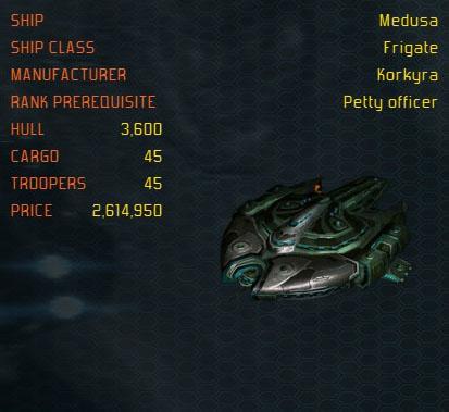 Medusa ship