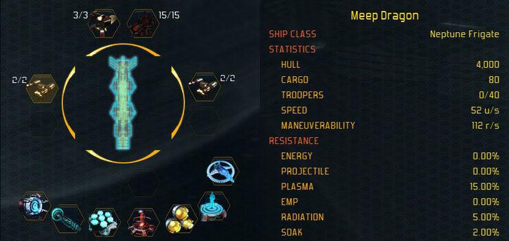 Neptune stats