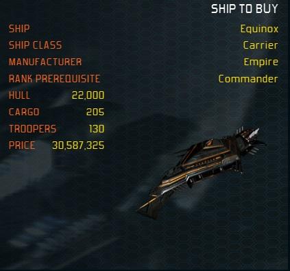 Equinox ship