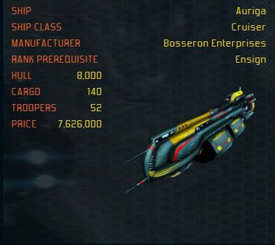 Auriga ship