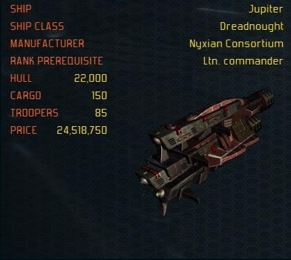 Jupiter ship