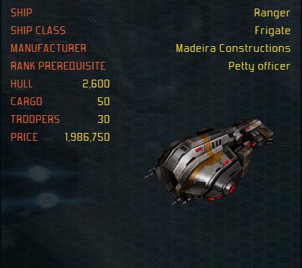 Ranger ship