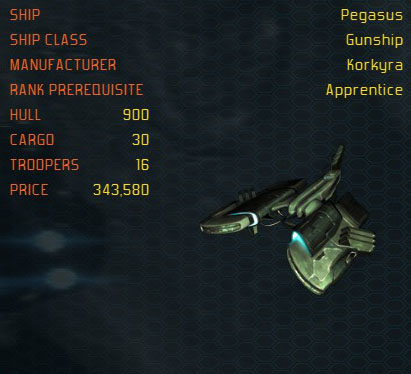 Pegasus ship
