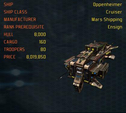 Oppenheimer ship