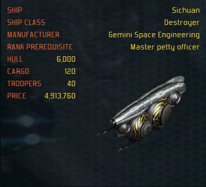 Sichuan ship
