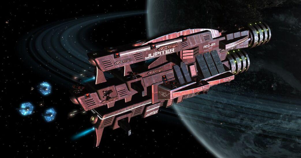 Jupiter scene