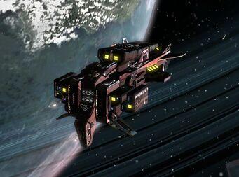 Cruiser Oppenheimer planetscape