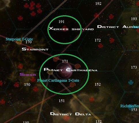 Perun map location