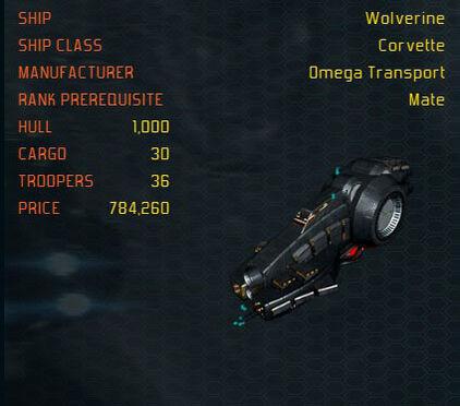 Wolverine ship