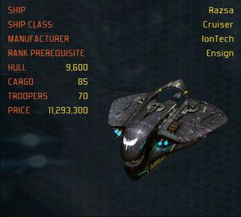 Razsa ship