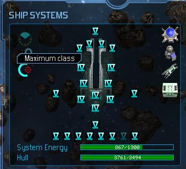 Poseidan Max weapons class