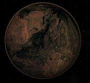 Telluric planet