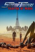 Starship Troopers Traidor de Marte poster
