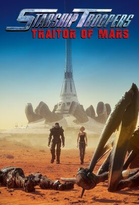 Starship Troopers Traidor de Marte póster