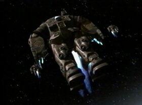 Trajes orbitales en descenso