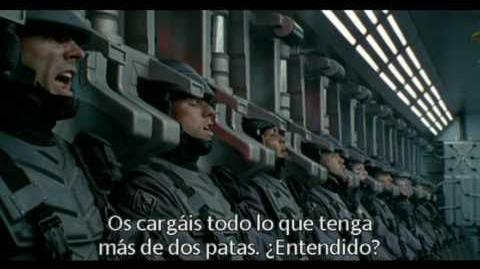 Starship Troopers (Trailer V.O subtitulado en español)