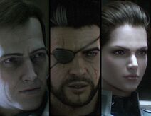 Carl, Johnny y Carmen (retratos, ToM)