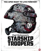Casco M3 Starship Troopers Full Metal Jacket