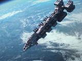 John A. Warden Type Starship