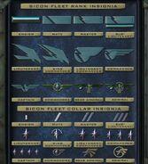 SICON Fleet Rank Insignia