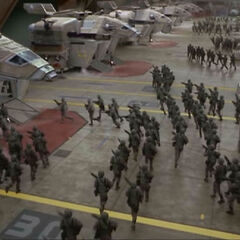 Infantería Móvil, Starship Troopers (1997)