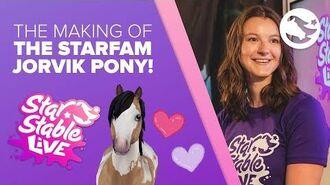 The Making of the StarFam Jorvik Pony!
