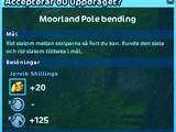 Moorland Pole bending