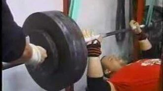 Max Effort Bench Day at Westside Barbell Late 90's Early 2000's